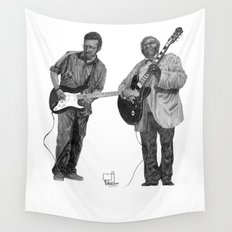 Clapton/King Wall Tapestry