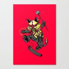 RobotiCAT Canvas Print
