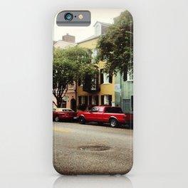 Rainbow Row iPhone Case