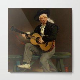 "Édouard Manet ""The Spanish Singer"" Metal Print"