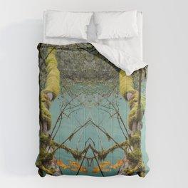 Medium Blue Comforters