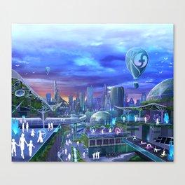 flowtopia Canvas Print