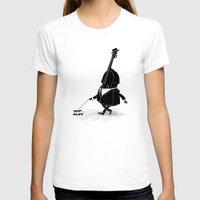 bass T-shirts featuring Walking Bass by Triagus