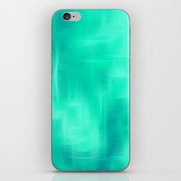 Aqua Texture iPhone Skin