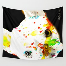 Color Me Frenchie Wall Tapestry