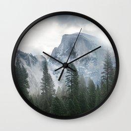 Majestic Mountain Wall Clock
