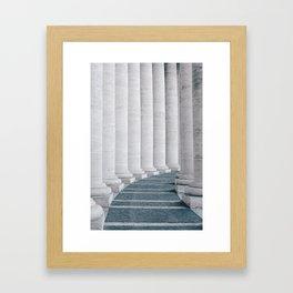 MMXVIII Framed Art Print