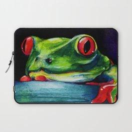Hello by Kathy Morton Stanion Laptop Sleeve
