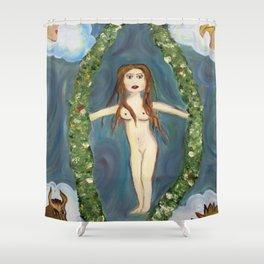 XXI The World Shower Curtain