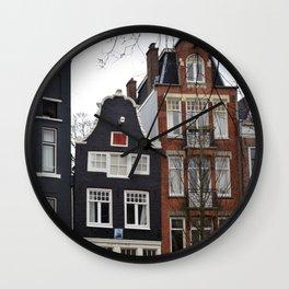 Amsterdam Wall Clock
