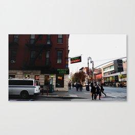 Waverly Restaurant Canvas Print