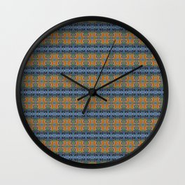 Fox Stare patterned Wall Clock