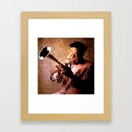 Dizzy Gillespie Framed Art Print