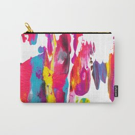 Abstract Paint Smear Party Carry-All Pouch