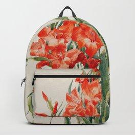 Charles Demuth  -  Red Gladioli Backpack