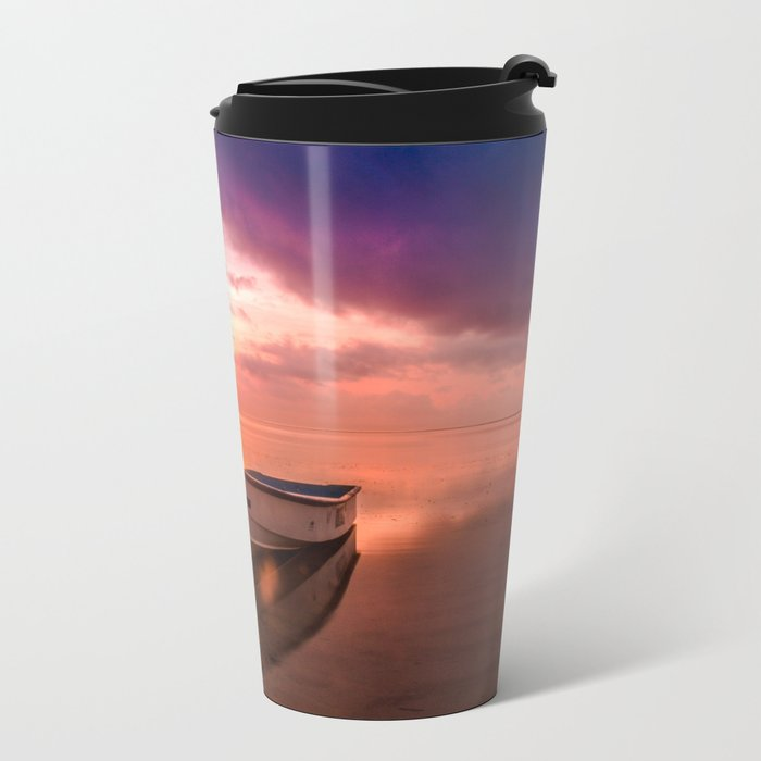 The Best Sunset Metal Travel Mug