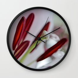 Lily Blush Wall Clock