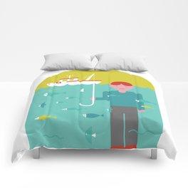 Umbrella print Comforters