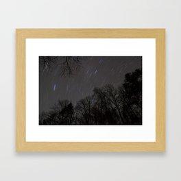 Star Wall Framed Art Print