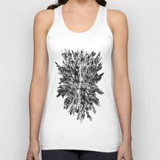 Metropolis (for other colors, see Black Ice and Starburst) Unisex Tank Top