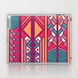 Tribal ethnic geometric pattern 001 Laptop & iPad Skin