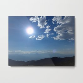 California into Nevada view Metal Print
