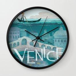 Vintage poster - Venice Wall Clock