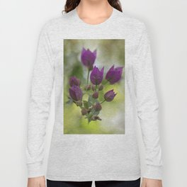 Purple Bougainvillea Long Sleeve T-shirt