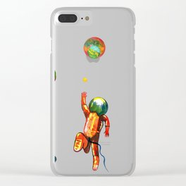 Lostronaut Clear iPhone Case