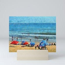 Low Tide PhotoArt Mini Art Print