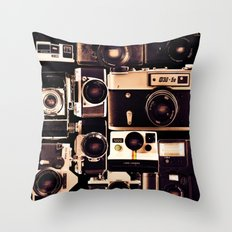 My First Camera Throw Pillow