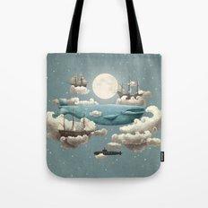 Ocean Meets Sky - colour option Tote Bag