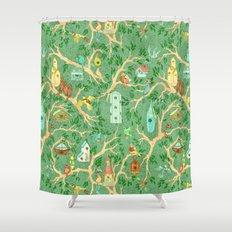 Welcome to the Neighborhood Shower Curtain