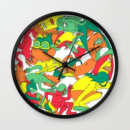 See you Around Wall Clock