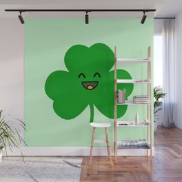 Happy Shamrock Wall Mural