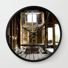 Inside the Headstaff of the Longfellow Mine, at 11,080 feet Wall Clock