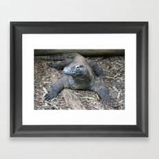 this is my good side. Framed Art Print