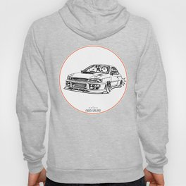 Crazy Car Art 0195 Hoody