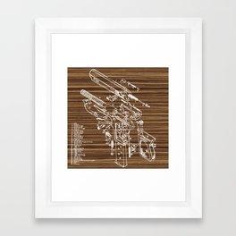 Walther PPK Framed Art Print