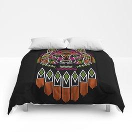 indiana wolf Comforters