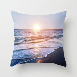 BEACH DAYS IX Throw Pillow