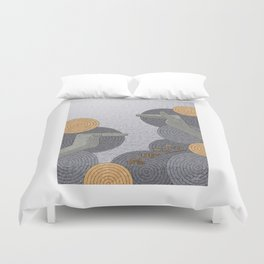 Hope Opens Heaven - (Artifact Series) Duvet Cover