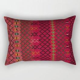 heritage Moroccan Berber Artwork B17 Rectangular Pillow