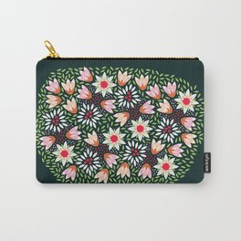 Bed of Flowers Carry-All Pouch