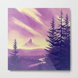 Mt. Hood Metal Print