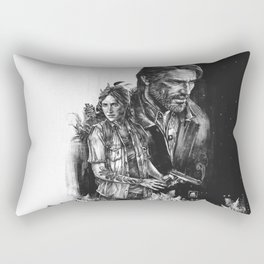 The Last Of Us Part II - Ellie and Joel Rectangular Pillow