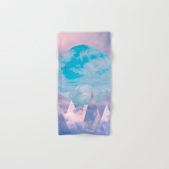 Clouds and Mountains Hand & Bath Towel