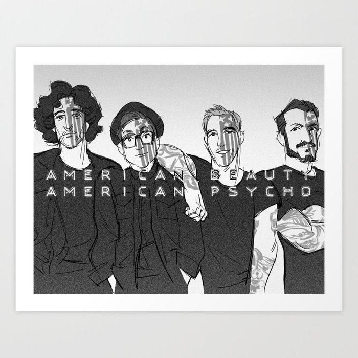 We're Just Resurrection Men Art Print