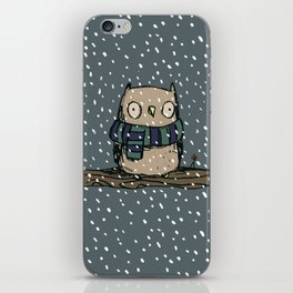 Chilly Owl iPhone Skin