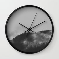 norway Wall Clocks featuring Norway - Realms by Andrej Stern